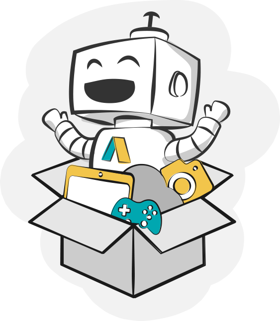 image of appy in a box